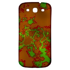 Unique Marbled Hot Samsung Galaxy S3 S Iii Classic Hardshell Back Case by MoreColorsinLife