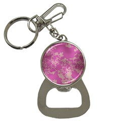 Unique Marbled Pink Bottle Opener Key Chains by MoreColorsinLife
