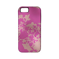 Unique Marbled Pink Apple Iphone 5 Classic Hardshell Case (pc+silicone) by MoreColorsinLife