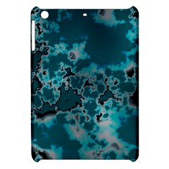 Unique Marbled Teal Apple Ipad Mini Hardshell Case by MoreColorsinLife
