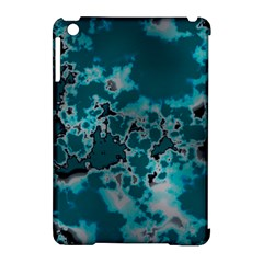 Unique Marbled Teal Apple Ipad Mini Hardshell Case (compatible With Smart Cover) by MoreColorsinLife