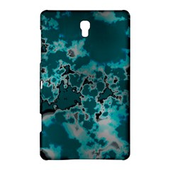 Unique Marbled Teal Samsung Galaxy Tab S (8.4 ) Hardshell Case  by MoreColorsinLife