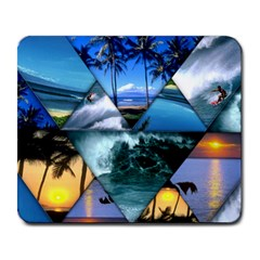 Sun & Surf Large Mousepad by myuncledanshop