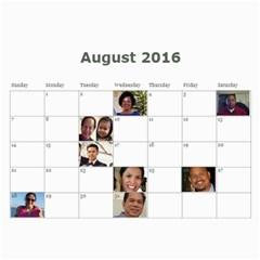 Calendar 2015 By Michelle   Wall Calendar 11  X 8 5  (12 Months)   27ty700vppor   Www Artscow Com Aug 2016