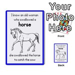 I Know An Old Woman card game - Multi-purpose Cards (Rectangle)
