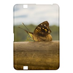 Butterfly Against Blur Background At Iguazu Park Kindle Fire Hd 8 9  by dflcprints