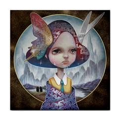 World Peace Tile Coasters by YOSUKE