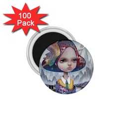 World Peace 1.75  Magnets (100 pack)  by YOSUKE
