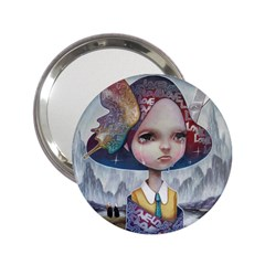 World Peace 2.25  Handbag Mirrors by YOSUKE