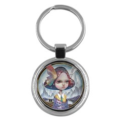 World Peace Key Chains (round)  by YOSUKE