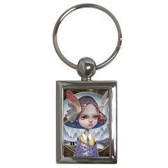 World Peace Key Chains (rectangle)  by YOSUKE