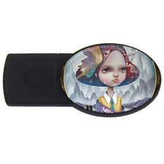 World Peace USB Flash Drive Oval (1 GB)  by YOSUKE