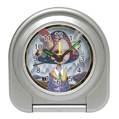 World Peace Travel Alarm Clocks by YOSUKE