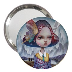 World Peace 3  Handbag Mirrors by YOSUKE