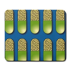 Capsule Pattern Large Mousepads by theimagezone