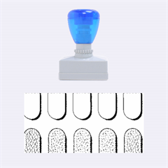 Capsule Pattern Rubber Stamps (medium)  by theimagezone