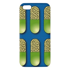 Capsule Pattern Iphone 5s Premium Hardshell Case by theimagezone