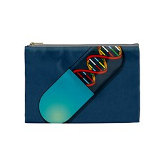 Dna Capsule Cosmetic Bag (medium)  by theimagezone