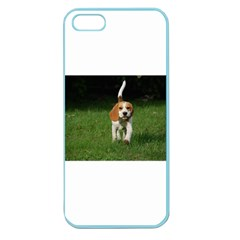 Beagle Walking Apple Seamless iPhone 5 Case (Color)