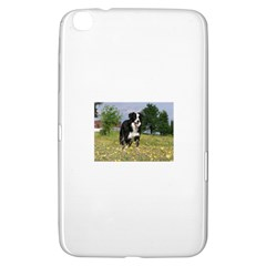 Border Collie Full 3 Samsung Galaxy Tab 3 (8 ) T3100 Hardshell Case  by TailWags