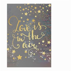 Love Is Small Garden Flag (two Sides) by walala