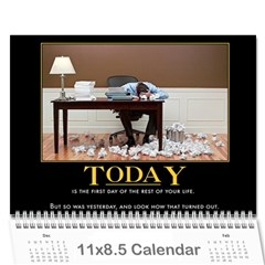 Demotivational By Jacob Parker   Wall Calendar 11  X 8 5  (12 Months)   Htj51sg1le0s   Www Artscow Com Cover