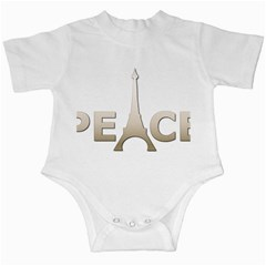 pray for Paris Peace Infant Creeper by vintageretrostore