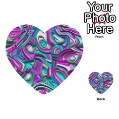 Art Deco Candy Multi Purpose Cards (heart)