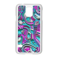 Art Deco Candy Samsung Galaxy S5 Case (white) by MoreColorsinLife