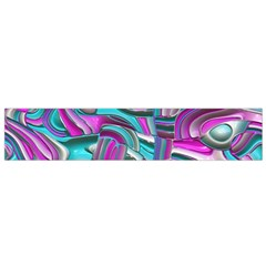 Art Deco Candy Flano Scarf (small)  by MoreColorsinLife