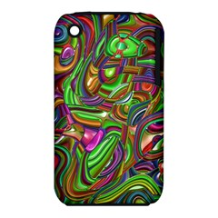 Art Deco Apple Iphone 3g/3gs Hardshell Case (pc+silicone)