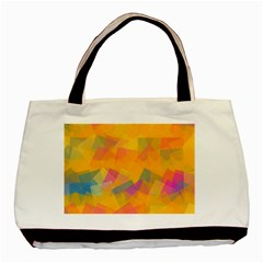 Fading Squares Basic Tote Bag by LalyLauraFLM