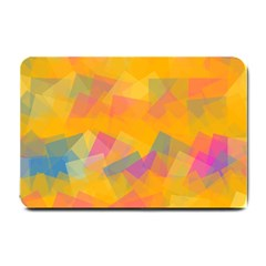 Fading Squares Small Doormat by LalyLauraFLM