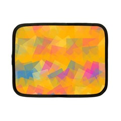 Fading Squares Netbook Case (small) by LalyLauraFLM