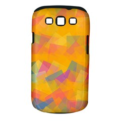 Fading Squares Samsung Galaxy S Iii Classic Hardshell Case (pc+silicone) by LalyLauraFLM