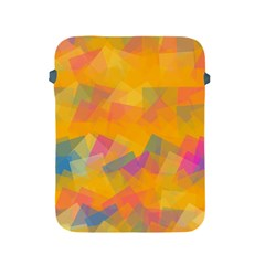 Fading Squares Apple Ipad 2/3/4 Protective Soft Case by LalyLauraFLM