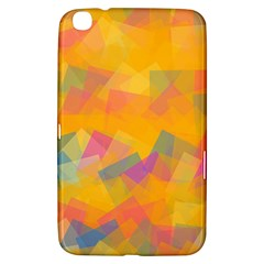 Fading Squares Samsung Galaxy Tab 3 (8 ) T3100 Hardshell Case  by LalyLauraFLM
