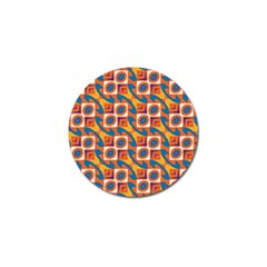 Squares And Other Shapes Pattern Golf Ball Marker (10 Pack) by LalyLauraFLM