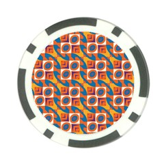 Squares And Other Shapes Pattern Poker Chip Card Guard (10 Pack) by LalyLauraFLM