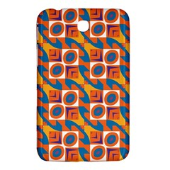 Squares And Other Shapes Pattern Samsung Galaxy Tab 3 (7 ) P3200 Hardshell Case  by LalyLauraFLM