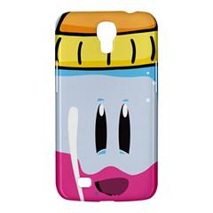 Purp Baby Bottle Samsung Galaxy Mega 6 3  I9200 Hardshell Case by stoner