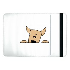 Peeping Chihuahua Samsung Galaxy Tab Pro 10.1  Flip Case by TailWags