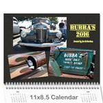 Bubba s Bait Truck 2016 - Wall Calendar 11  x 8.5  (12-Months)