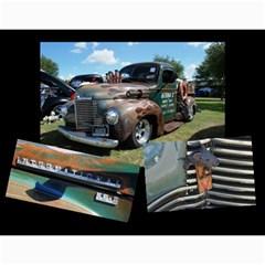 Bubba s Bait Truck 2016 By J  Richardson   Wall Calendar 11  X 8 5  (12 Months)   A0ct9upfzune   Www Artscow Com Month