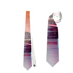 London Tower Bridge, Bokeh Orange Neckties (two Side)