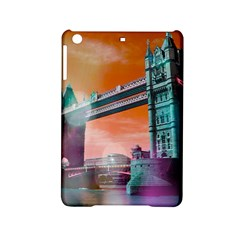 London Tower Bridge, Bokeh Orange Ipad Mini 2 Hardshell Cases by MoreColorsinLife