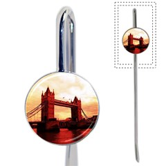 London Tower Bridge Red Book Mark by MoreColorsinLife