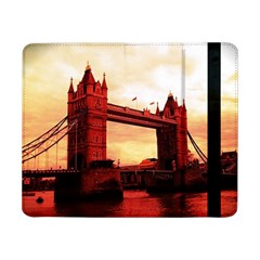 London Tower Bridge Red Samsung Galaxy Tab Pro 8 4  Flip Case by MoreColorsinLife