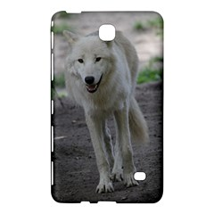 White Wolf Samsung Galaxy Tab 4 (7 ) Hardshell Case  by MoreColorsinLife