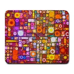 Circles City Large Mousepads by KirstenStar
